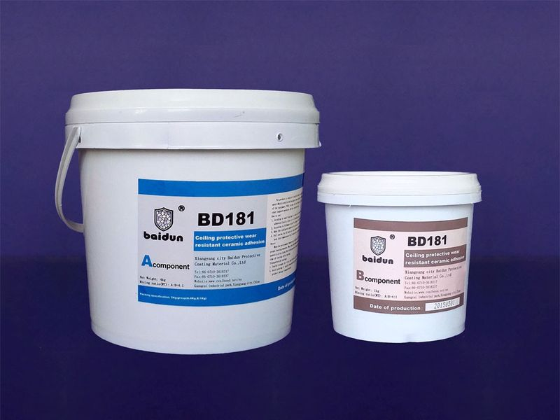 BD181 wear resistant ceramic adhesives