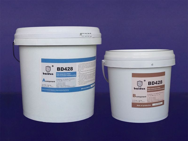 BD428 desulfuration system anticorrosion coating