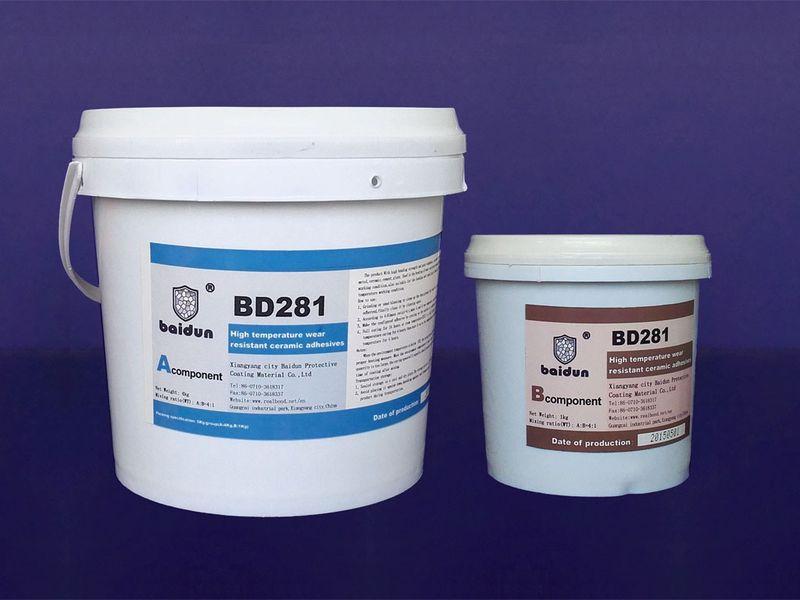 BD281 wear resistant ceramic adhesive