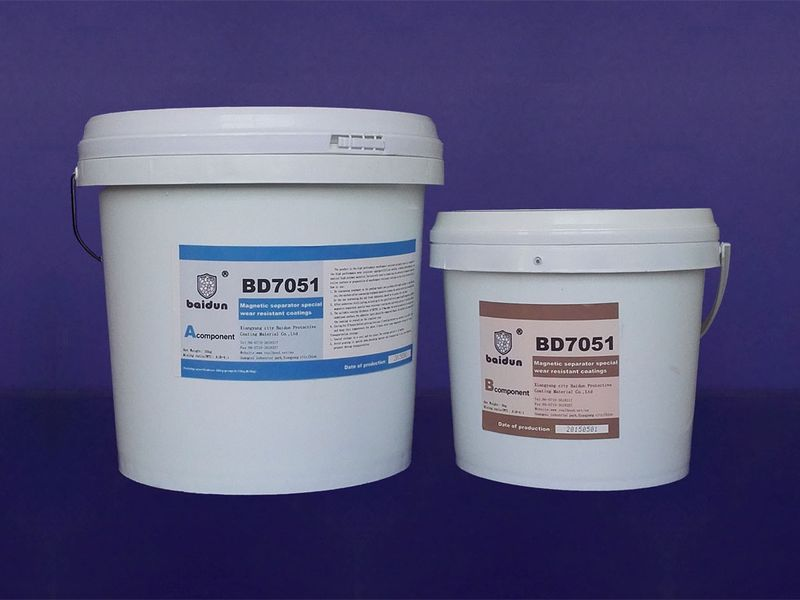 BD7051 magnetic separator wear resistant repair coating