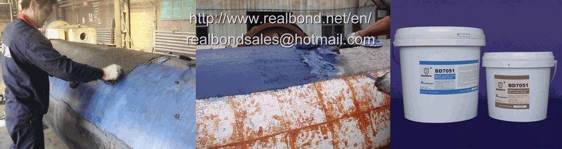 BD7051 magnetic separator wear resistant repair coating