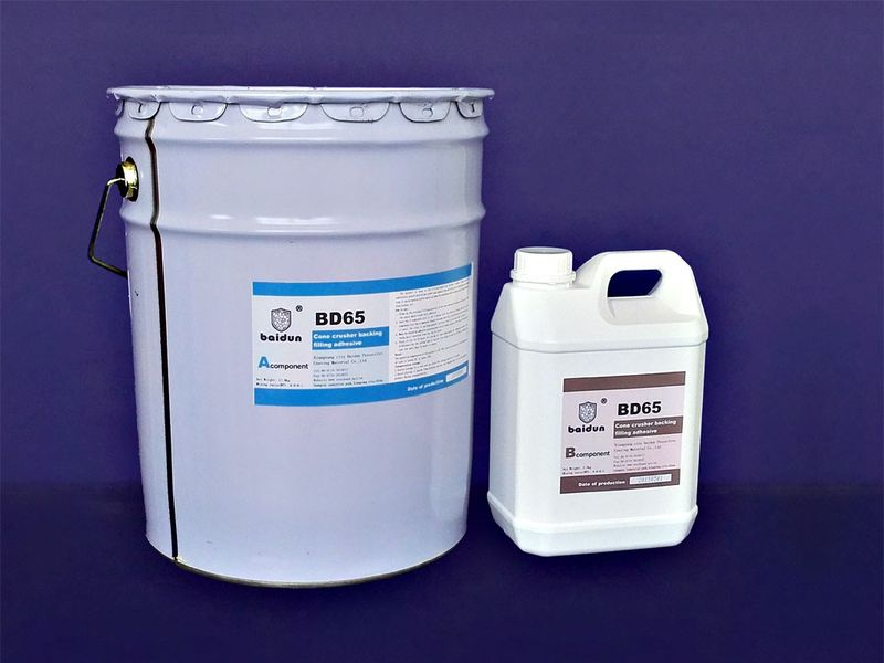 BD65 crusher backing adhesive